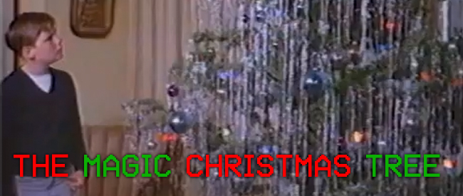 MAGIC CHRISTMAS TREE BANNER