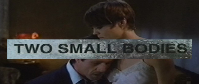TWO SMALL BODIES banner