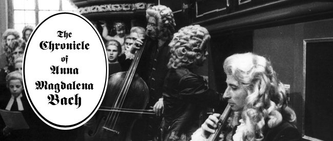 Chronicle of Anna Magdalena Bach banner