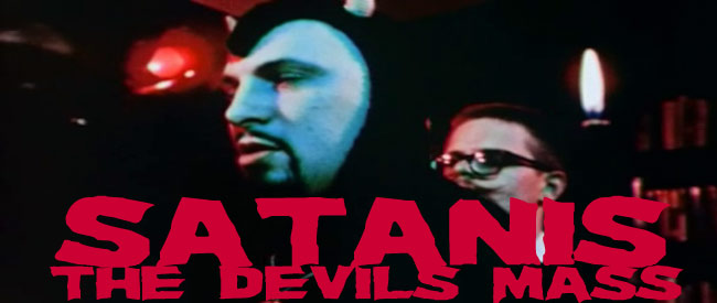 Satanis: The Devil's Mass banner