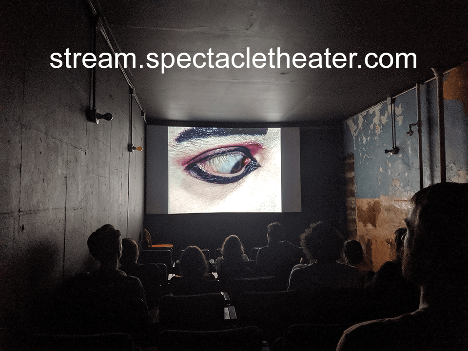 streaming at stream.spectacletheater.com